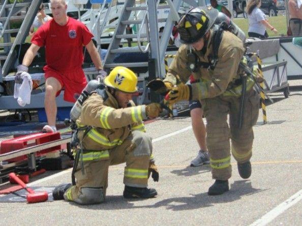 Help support Team Heatwave, Firefighter Combat Challenge.