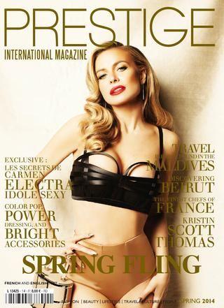 PRESTIGE INTERNATIONAL Magazine 2014 SPRING - EUROPE VERSION