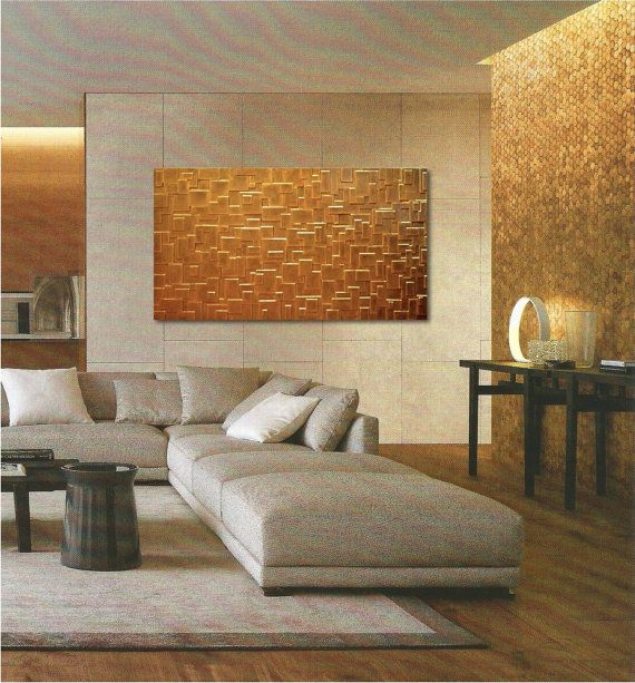 Large Wall Art  Patterned Wall Panel  Abstract by JeemadoDecor