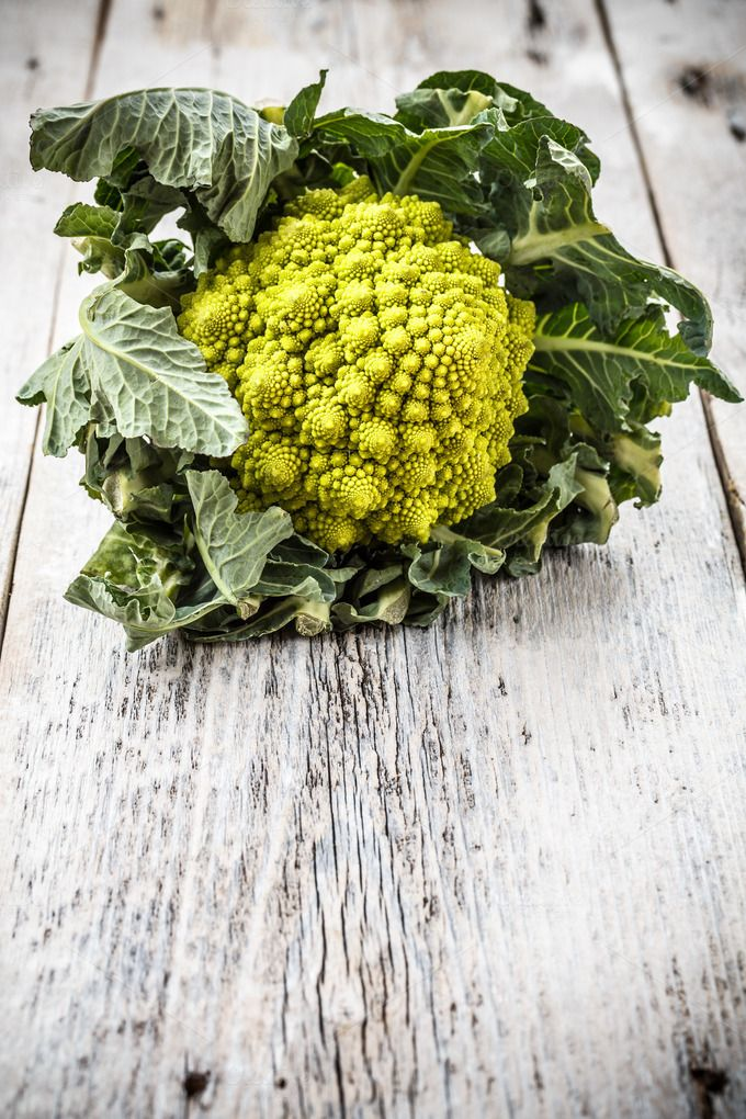 Romanesco broccoli by Grafvision photography on Creative Market