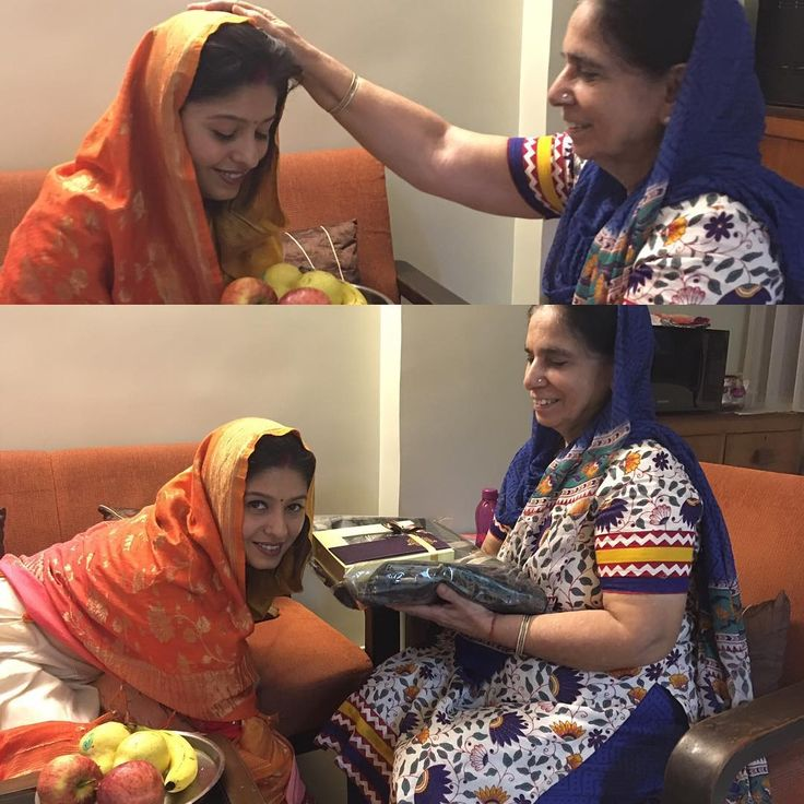 Me and Mom! Happy Karva Chauth to all!!!