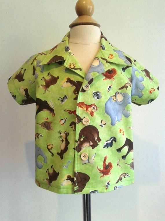 Check out this item in my Etsy shop https://www.etsy.com/ca/listing/293101907/button-shirt-size-18-24-months