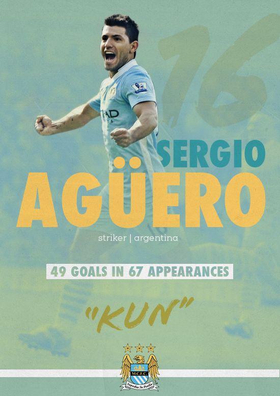 Manchester City Poster Series by Eduardo Diazmuñoz, via Behance