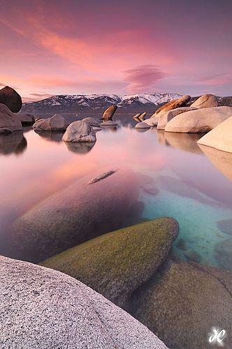 Sand Harbor State Park, Lake Tahoe, NV.