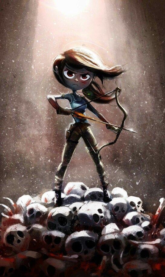 Tomb Raider Game, Lara Croft, Fan Art, Cosplay Tomb Raider by Gijé.