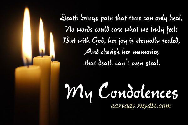 Deepest Condolences Messages for Cards and Flowers | Condolences