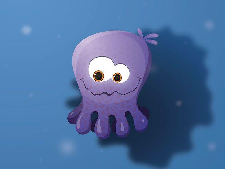 """scary"" octopus Olivia"