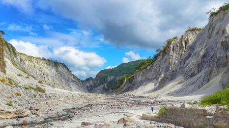 Lahar trail to Mt. Pinatubo, crater. Photo by Adrian Kilua Caballero — National Geographic Your Shot