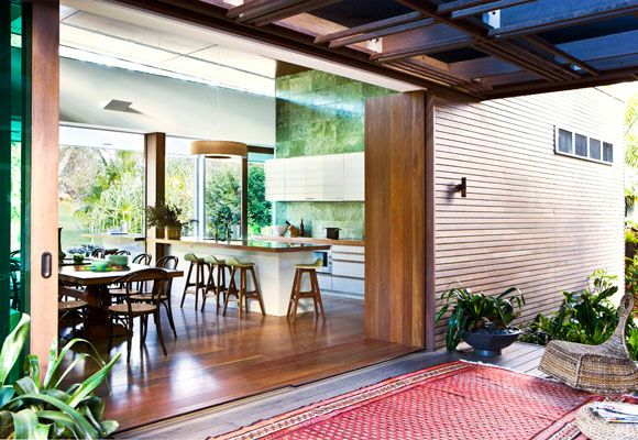 Open Plan Kitchen/Living/Outdoor