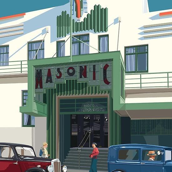 Art Deco Napier Masonic Hotel