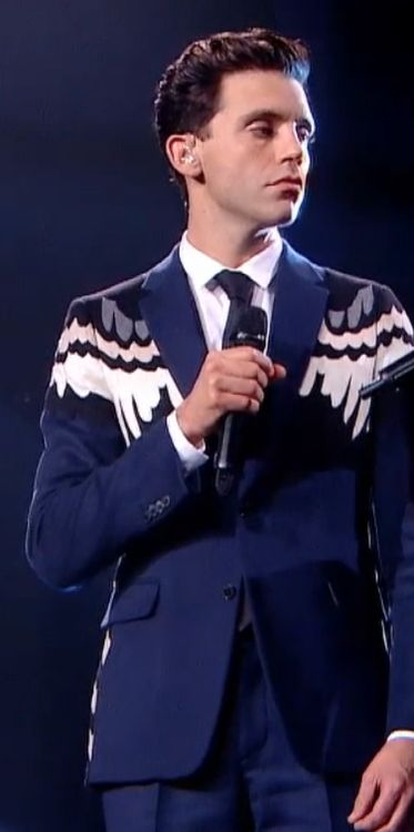 The voice :') Mika and that suit