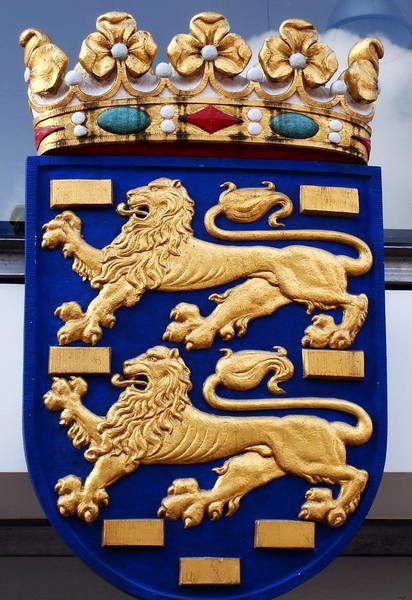 Wapen van Friesland, Provinciehuis, Leeuwarden, Friesland.