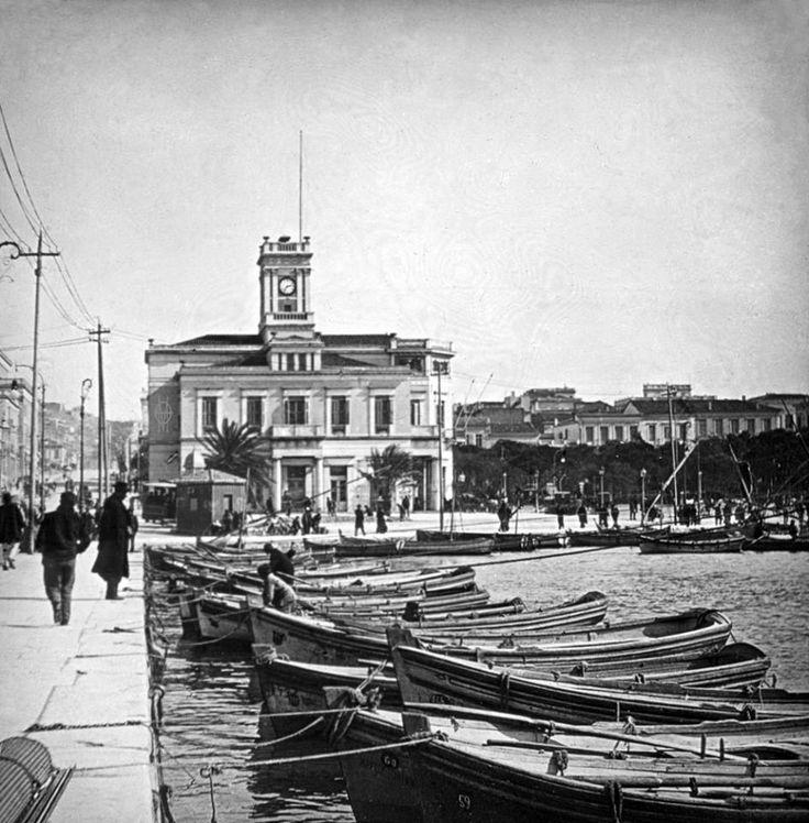 Πειραιάς, αρχές 20ου αιώνα. Το Δημαρχείο.