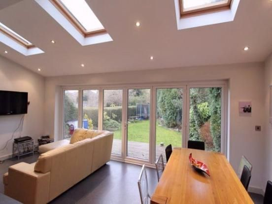 i want some sky lights on the roof to let natural light in