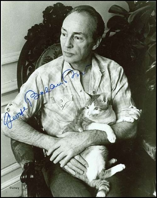 George Balanchine, born Giorgi Balanchivadze in Russia (1904-1983), was one of the 20th century's most famous choreographers, a developer of ballet in the United States and the co-founder and balletmaster of New York City Ballet. He was a choreographer known for his musicality; he expressed music with dance and worked extensively with Igor Stravinsky. 39 of his more than 400 ballets were choreographed to music by Stravinsky. At nine he was accepted into the Imperial Ballet School.