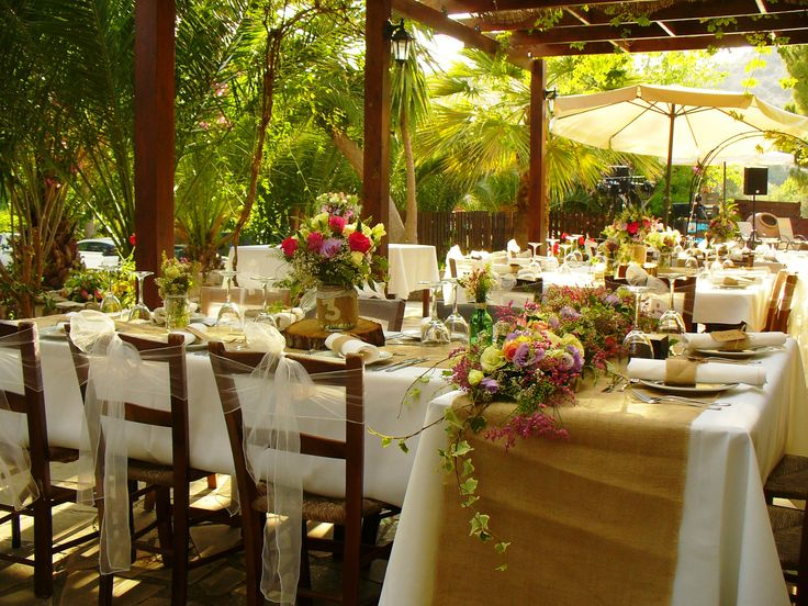 307 best reception table decor images on pinterest table just perfect set up for your special day in cyprus junglespirit Images