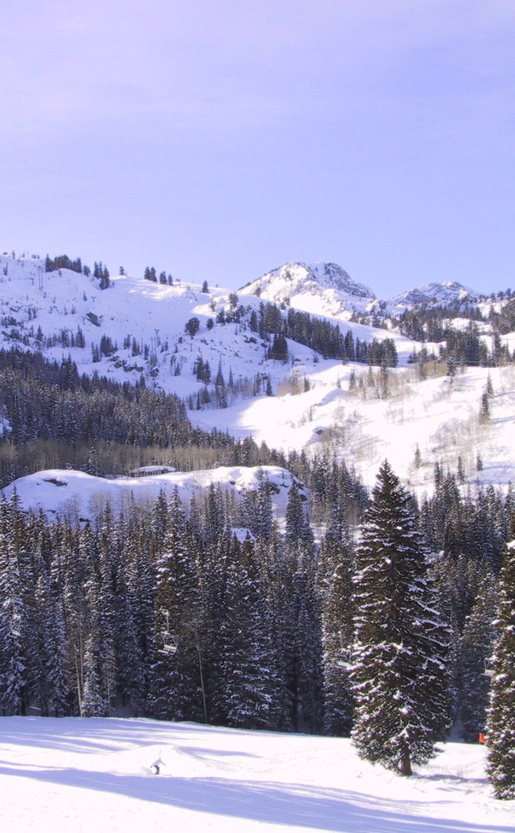 Brighton Resort | Travel | Vacation Ideas | Road Trip | Places to Visit | Salt Lake City | UT | Tourist Attraction | Ski Area