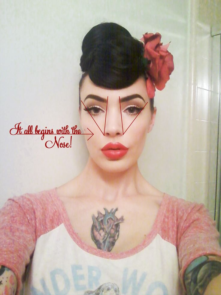 The Perfect Pinup Eyebrows Tutorial - with Micheline Pitt from Pinup Girl Style