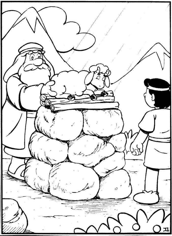 Tema: Abraão e Isaque 1- Quebra-Gelo: Qual é a pessoa ou coisa (televisão, futebol, brincar, etc) que você ama mais? Por quê? (Líder, depois que as crianças responderem, explique a elas que Deus de...
