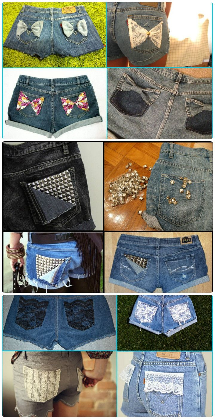 3 Awesome ways to Customize Denim Cut-Off Shorts - 50+ DIY Shorts to Enjoy Your Summer Fashionably – How to DIY Shorts
