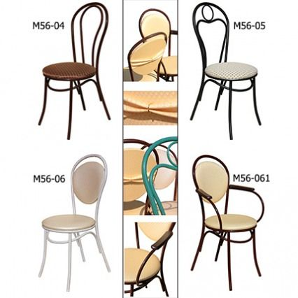 Венские стулья на металлокаркасе