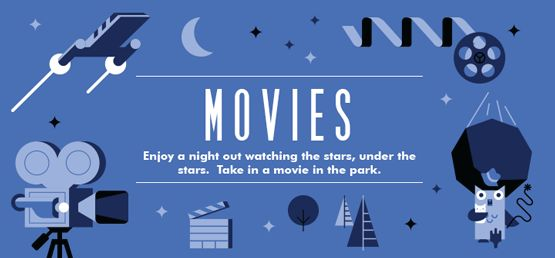 Chiacago: Schedule for Movies in the Parks (free!)