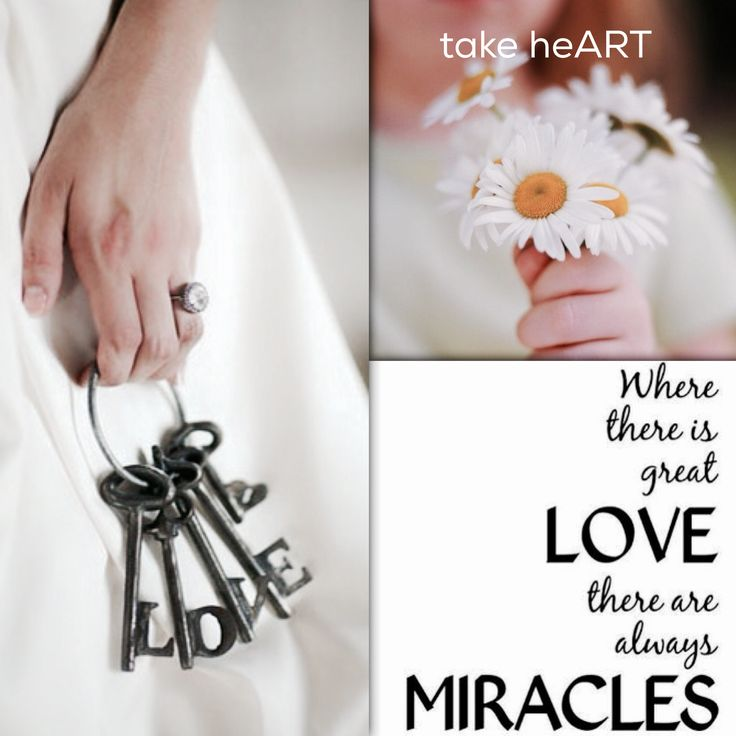 Quote. Where great love is there are always miracles
