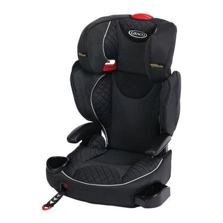 Автокресло Graco Affix черное в мелкую белую клетку /1930353  — 6990р.  Автокресло Graco Affix  группы 2/3  (для детей ,весом от 15 -36кг)Соединители ISOCATCH фиксируются одной рукой, обеспечивают дополнительную безопасность и позволяют с легкостью устанавливать автокресло в любой автомобиль. Встроенные подлокотники и элементы с мягкой набивкой создают дополнительный комфорт во время поездки. Подстаканник в комплекте. Незамкнутые направляющие для ремней безопасности. Защита от бокового…