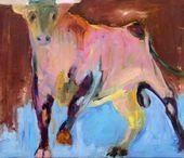 Bull II. Lise Malinovsky. Danish painter