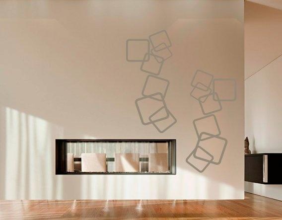 Vinilos Abstractos Decorativos, una nueva fuente de creatividad desbordante