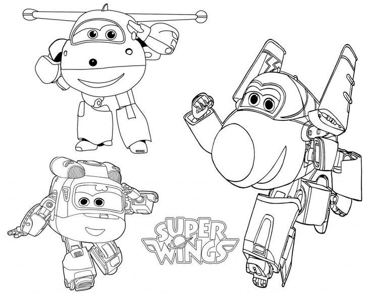 super wings coloring pages di 2020 (dengan gambar)
