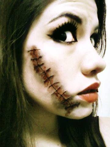 Stitches/ Halloween Makeup