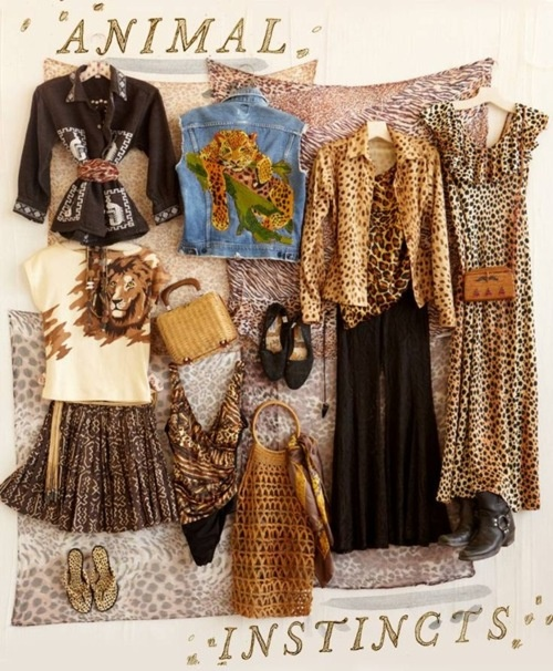 Animal Print Vintage Clothing #freepeople #vintageloves #vintage