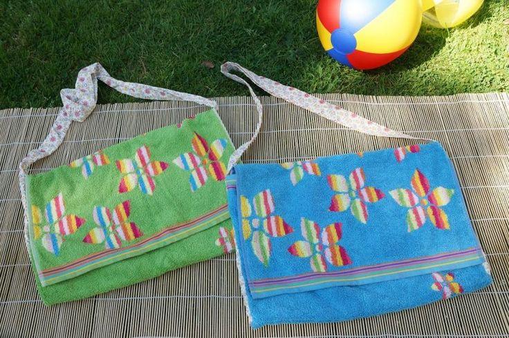 Strandtasche, Stoff, Stofftasche, Plastik vermeiden, nähen, Tasche, Shopper, 12monate12taschen, Meer, Schwimmbad