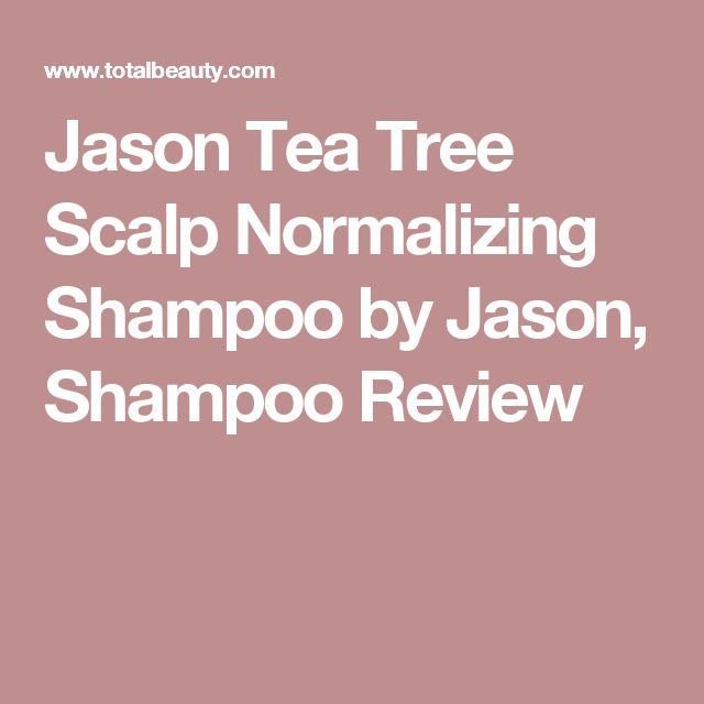 Jason Tea Tree Scalp Normalizing Shampoo by Jason, Shampoo Review
