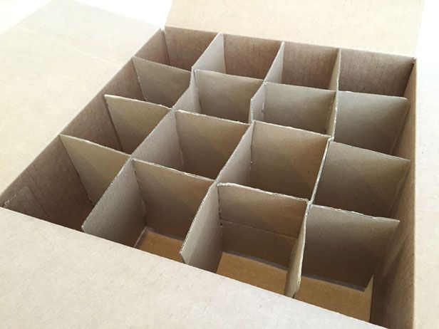 How to make an ornament storage box – for free.