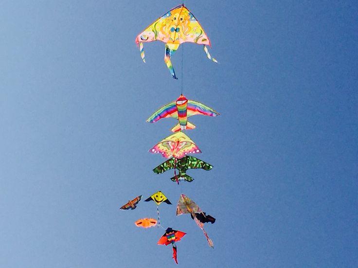 Drachenfliegen am Strand!