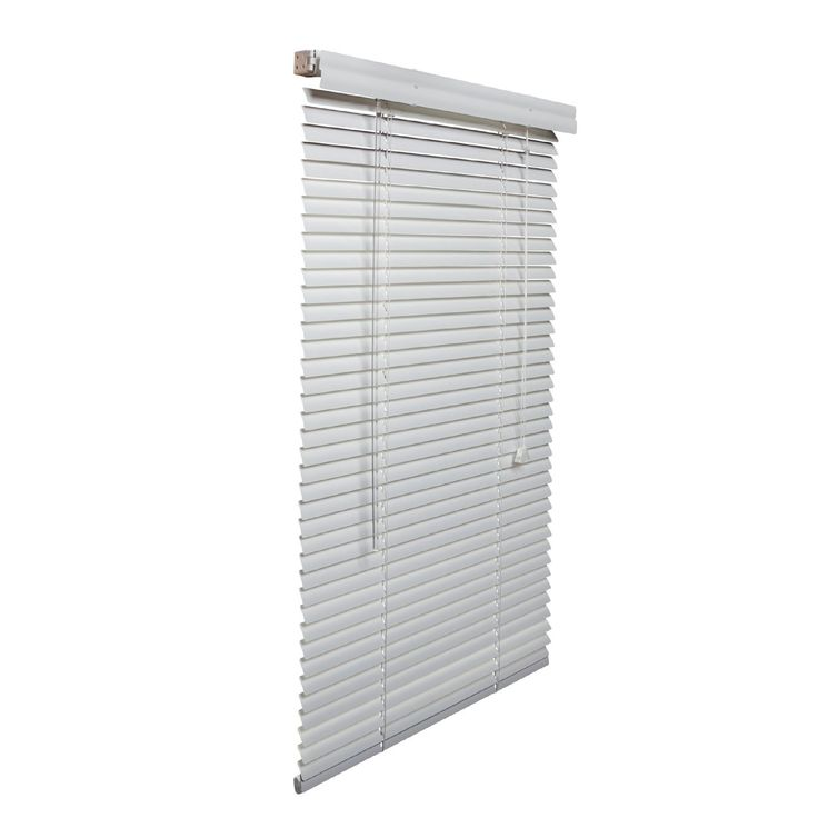 Lotus White Aluminum 1-inch 22- to- 30-inches-wide Blinds (White, 30 1/2 inches wide x 72 inches long)