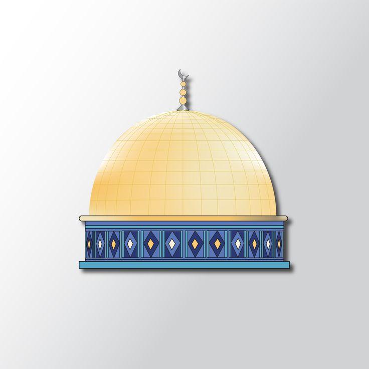 Domed Al-Aqsa mosque