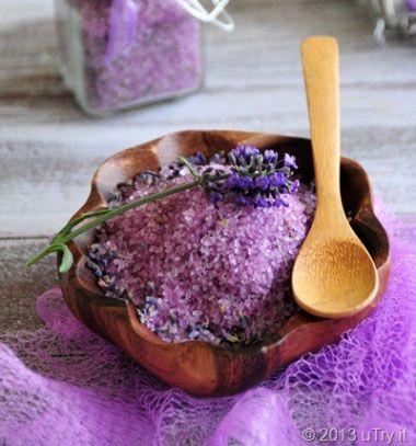 Homemade lavender bath salt / Levendulás vegyszermentes fürdősó házilag /  Mindy -  creative craft ideas