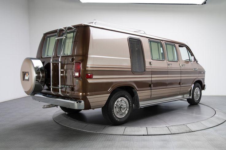 1985 Dodge Ram 250 Van MK III Brown
