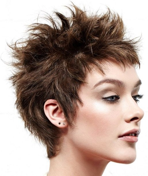 wild short haircuts the 25 best spiky hairstyles ideas on 3753 | 451cf0efeb3e06705c1e932d1fccd653 messy short hairstyles woman hairstyles