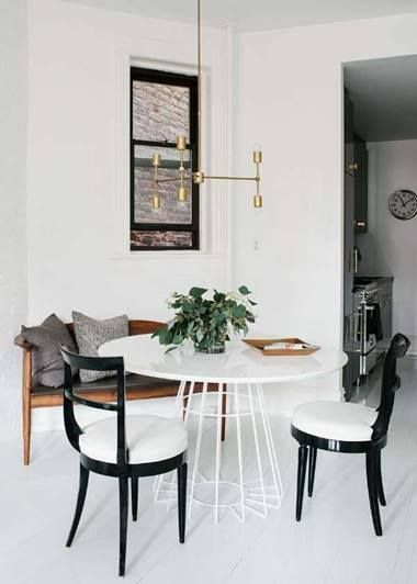 Edgy and urban, sophisticated! This high contrast black and white color palette, rich tobacco brown leather and brass highlights is a stylish example of cosmopolitan cool. #casaparadox #interiordeisgn #homedecor #luxurydesign #luxuryhome
