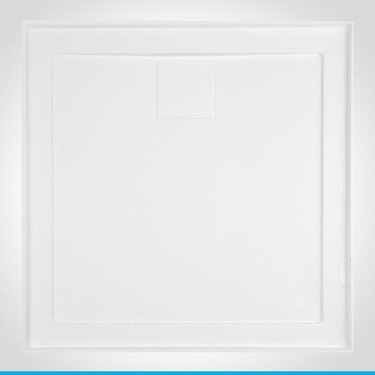 Resonance 900mm white shower base R/O