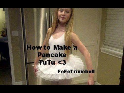 pancake tutu how to make