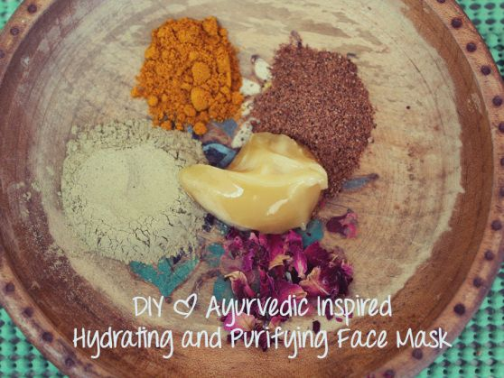 DIY Ayurvedic inspired hydrating and purifying faced mask