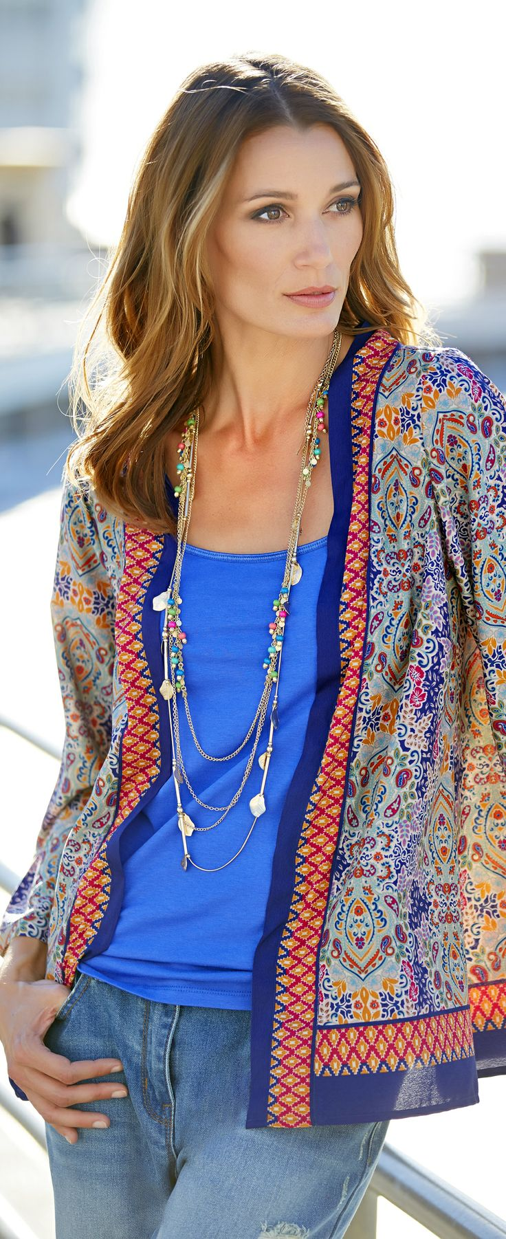 5 Easy to Wear Kimono Styles - What's up With All the Kimonos? (article) http://boomerinas.com/2013/12/04/5-easy-to-wear-kimono-styles-whats-up-with-all-the-kimonos/