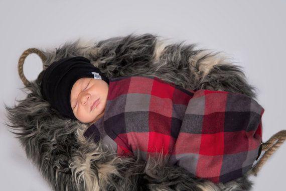 Christmas Gift Swaddle Blanket Newborn Blanket Flannel