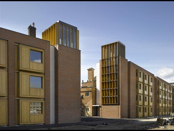 Somerville College Student Accommodation In Oxford, England By Niall  McLaughlin Architects
