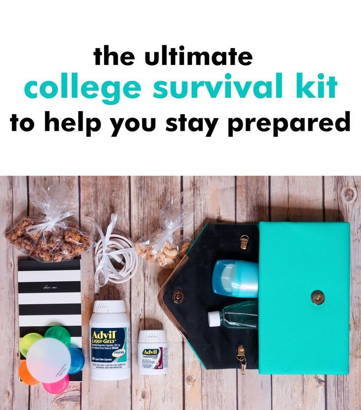 Don't let college get the best of you! Learn how you can create your very own college survival kit, featuring @AdvilRelief products. #AdvilRelief #ad #college #collegelife